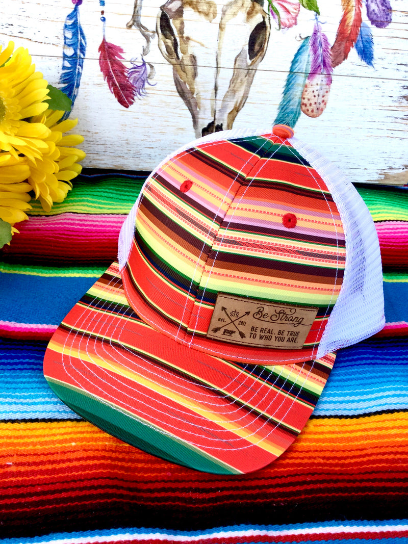 STS Red Serape Cap