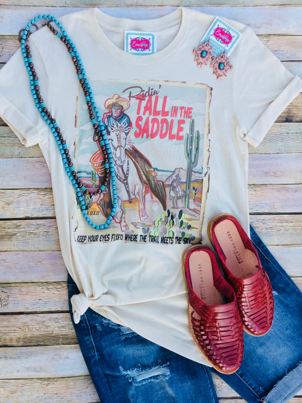 Tall in The Saddle Tee