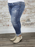 W27107SSX333: Plus Size Sam Boyfriend Skinnies