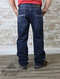 M0S4418: Men's Rock & Roll Double Barrel Straight Relax Jean