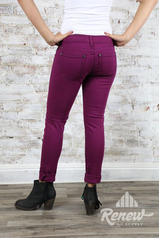 10011769IRR-Ariat Onyx Purple Skinny