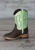 4416008- Infant/Toddler Boys' Green Boots