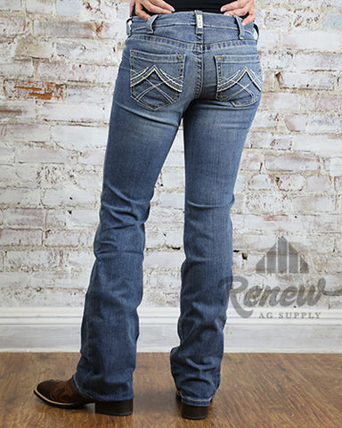10016202- Women's REAL Riding Jeans