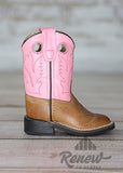 BSY1839- Girls' Old West Pink Boots