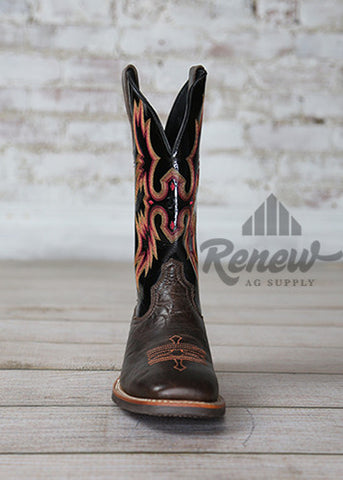 10006733- Men's Brown and Black Tombstone Boots