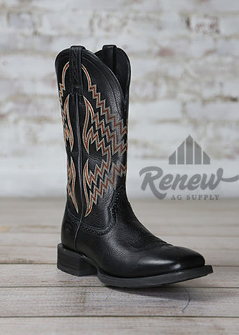 10017328- Men's Black Tycoon Ariat Boots