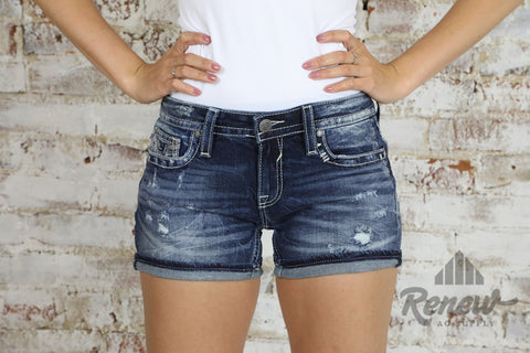 VC-S11171A: Vigoss Chelsea Destructed Short