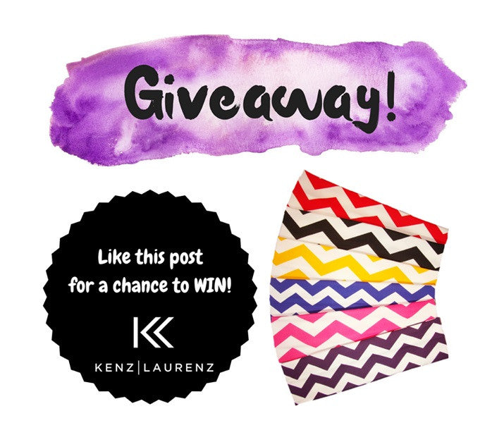 Winner Announcement for Chevron Headbands Pack
