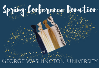 Hair Tie Donation to George Washington University