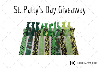 Winner Announcement for our St. Patty's Day Giveaway