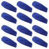 Mulitfunctional Headbands 12 Wide Yoga Running Workout Blue