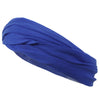 Multifunctional Headband Wide Yoga Running Workout Blue