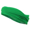 Mulitfunctional Headband Wide Yoga Running Workout Green
