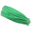 Mulitfunctional Headband Wide Yoga Running Workout Lime