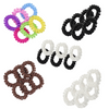 6 You Pick Colors and Quantities Spiral Hair Ties Elastic Coils Ponytail Holders Plastic Rubber Band