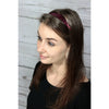 Sequin Headband Girls Headbands Sparkly Hair Head Bands Red Silver Blue