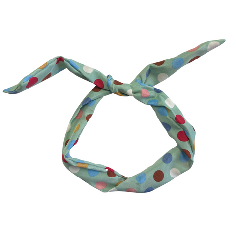 Twist Bow Wire Headband Wrap Scarf for Girls Women You Pick Colors and Quantities