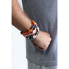 Softball Bracelet Titanium Braided Sports Wristband