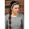 Braided Sports Headband Athletic Head Band You Pick Colors & Quantities