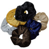 Velvet Scrunchies 12 Pack Neutrals