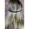 Adjustable Glitter Headband 1 Blue