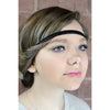 Adjustable Glitter Headband 1 White Frost