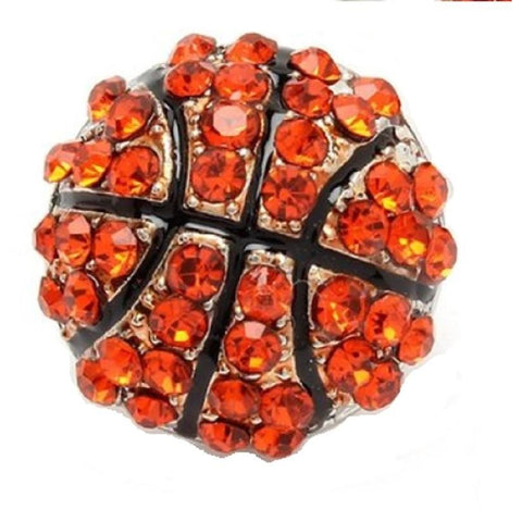 Basketball Ring Rhinestone