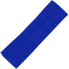 Cotton Headband Soft Stretch Headbands Sweat Absorbent Elastic Head Band Blue