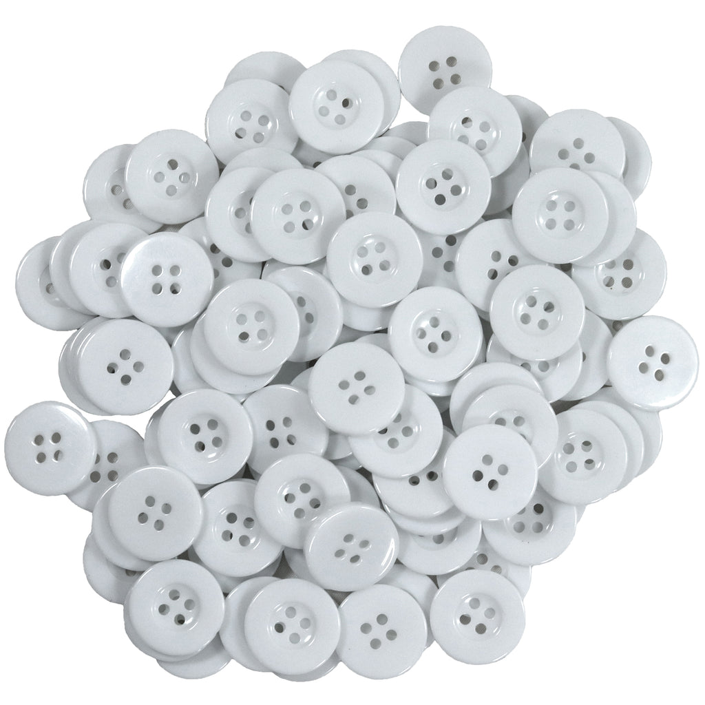 Buttons For Ear Saver Cotton Headband Soft Stretch For Nurses Healthcare Workers White