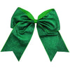 Glitter Cheer Bow for Girls Large Hair Bows Stiff Performance Competition Softball Dance Team