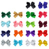 12 Assorted Classic Cheer Bows Large 7 Inch Hair Bow with Clip