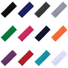 Wide Cotton Headbands Soft Stretch Headband Elastic Head Bands You Pick Colors & Quantities
