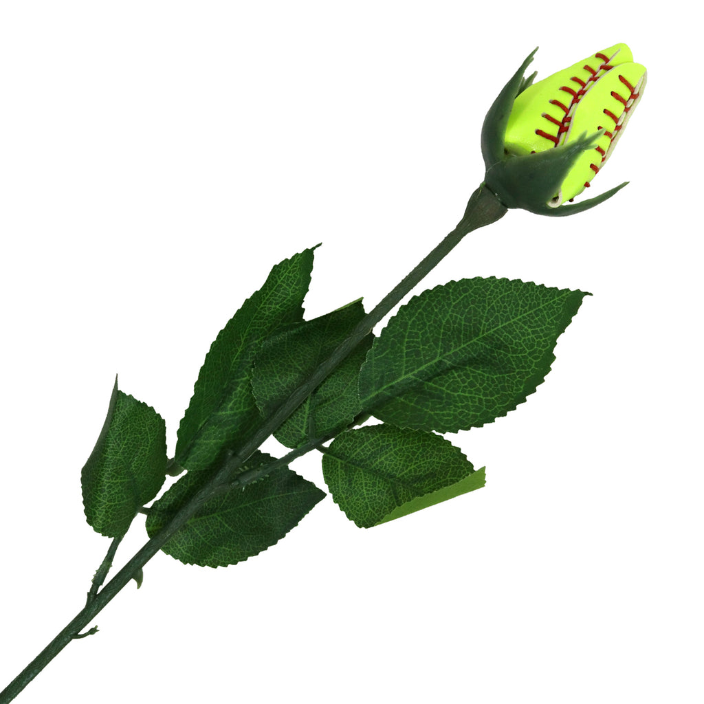 Softball Rose Sports Roses Flowers Softball Gifts for Girls Mom Coach Team Players Dad Fathers Day