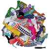 Hair Ties 200 Elastic Prints and Solids Ponytail Holders Ribbon Knotted Bands