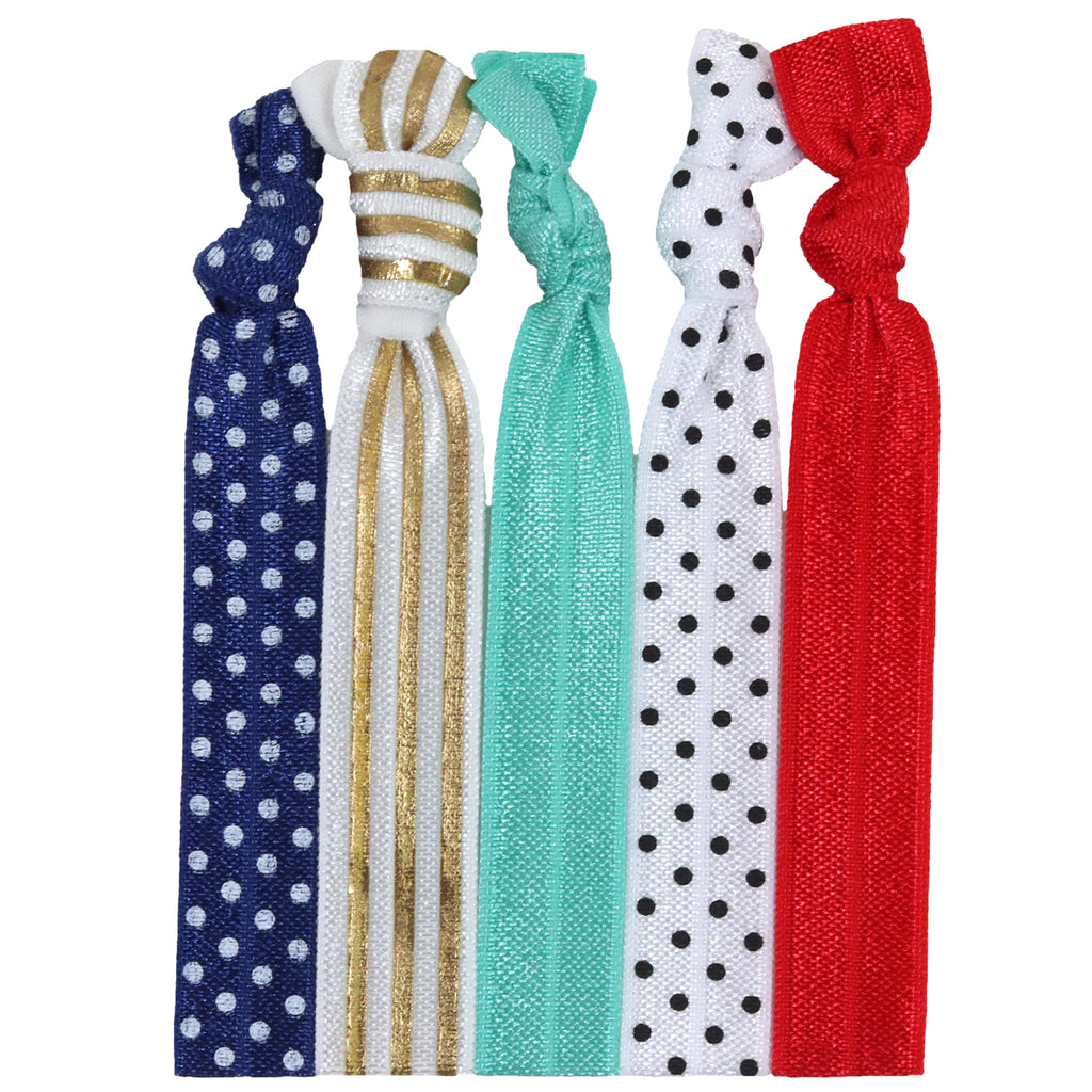 Hair Ties 5 Pack Premium
