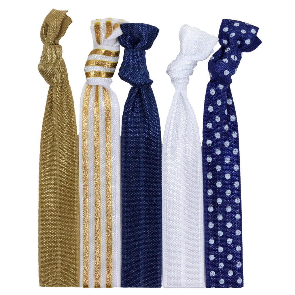 Hair Ties 5 Pack Regal
