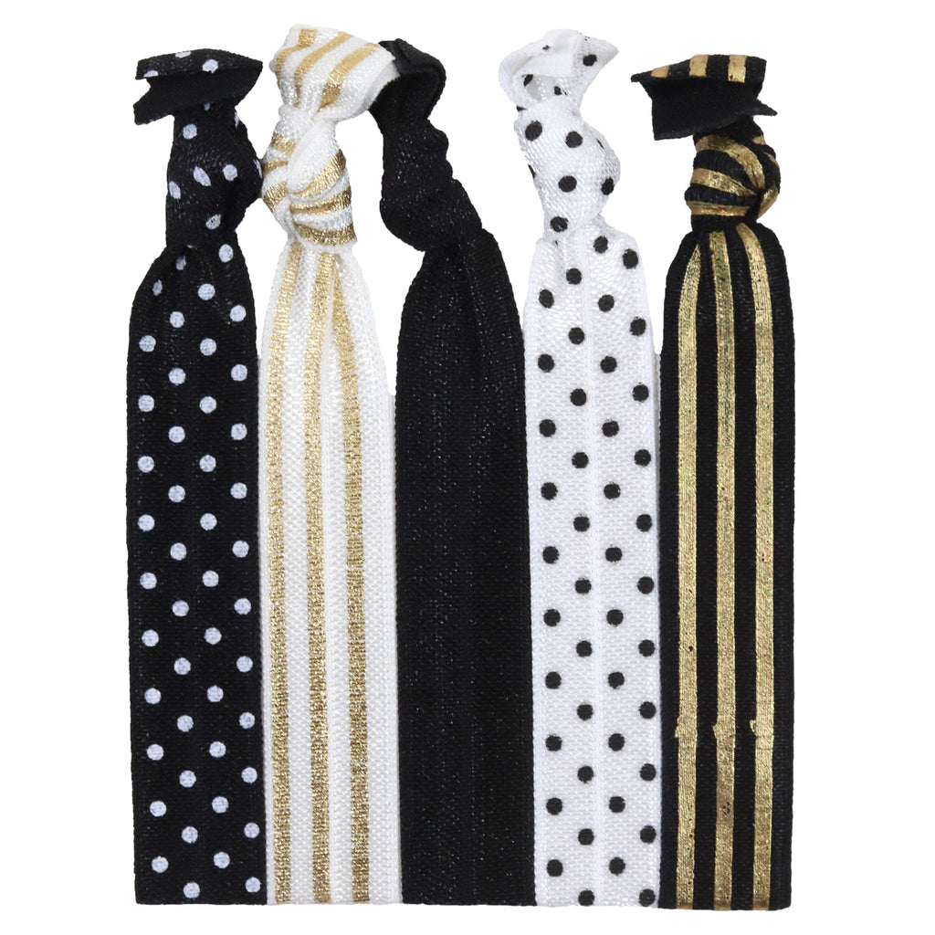 Hair Ties 5 Pack Sophisticated