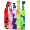 Hair Ties 5 Pack Tie Dye