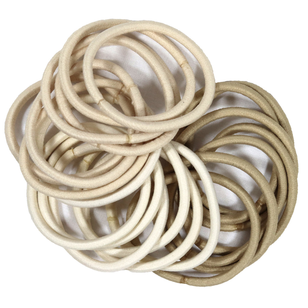 Hair Elastics 20 Pack Blonde Ombre