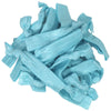 Hair Ties 20 Elastic Light Blue Ponytail Holders Ribbon Knotted Bands