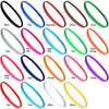 Non Slip Sports Headbands 12 Mini Elastic Head Bands Athletic Assorted