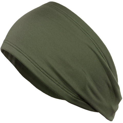 Performance Headband Moisture Wicking Athletic Sports Head Band Forest Army Green