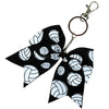 Volleyball Sports Keychains for Girls Bow Key Chain