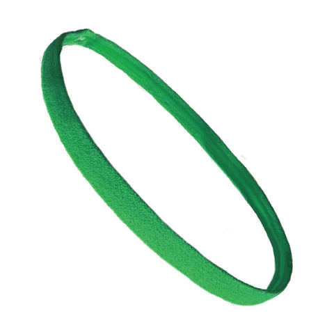 Non Slip Sports Headband Mini Elastic Head Band Athletic Green