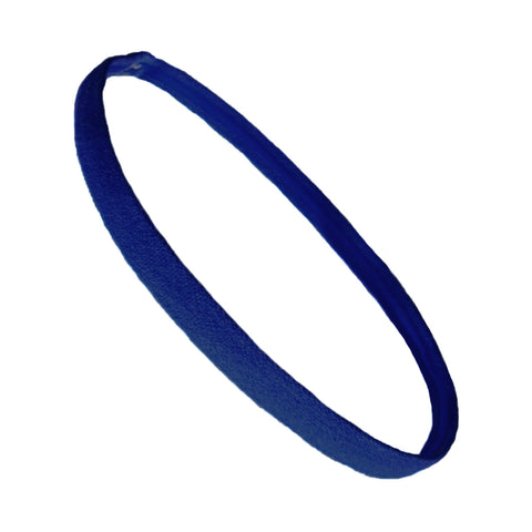 Non Slip Sports Headband Mini Elastic Head Band Athletic Navy