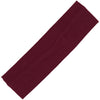 Cotton Headband Soft Stretch Headbands Sweat Absorbent Elastic Head Band Maroon