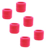 Sweatband for Wrist Terry Cotton Wristbands 6 Neon Pink