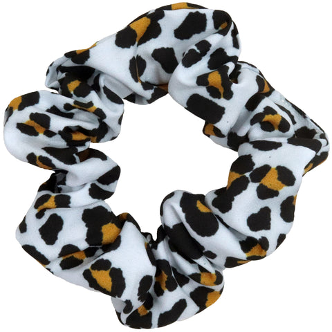 Cheetah Scrunchie Cotton Hair Ties Ponytail Holder Scrunchy Elastics