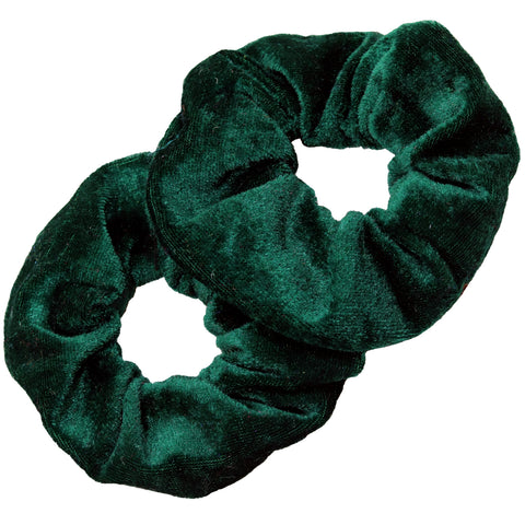Velvet Scrunchies 2 Pack Forest
