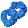 Velvet Scrunchies 2 Pack Teal